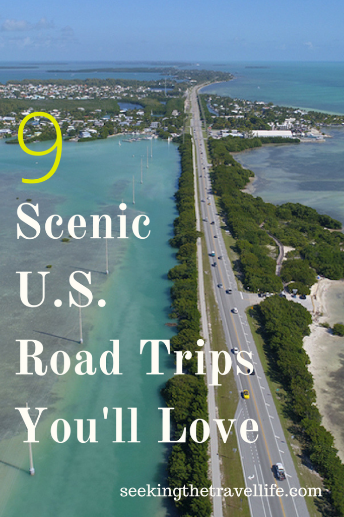 Beautiful and Scenic road trips in the U.S.